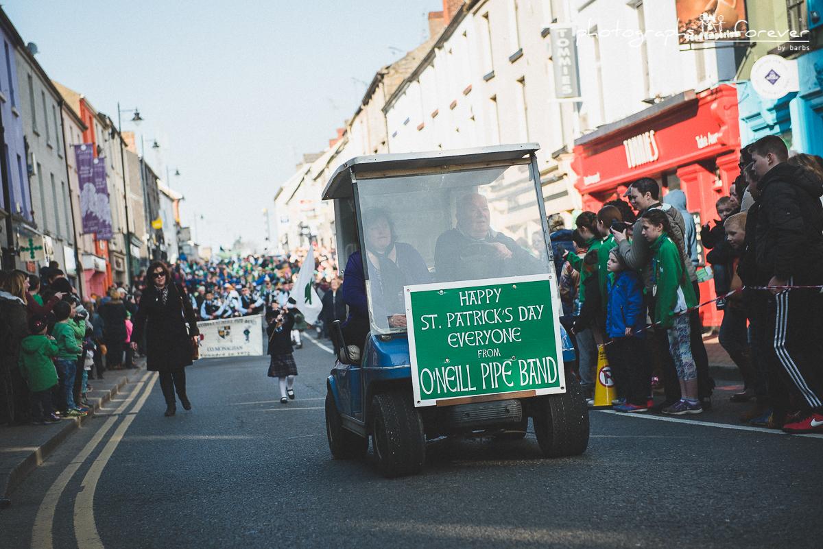 Saint Patrick Parade Monaghan  2016
