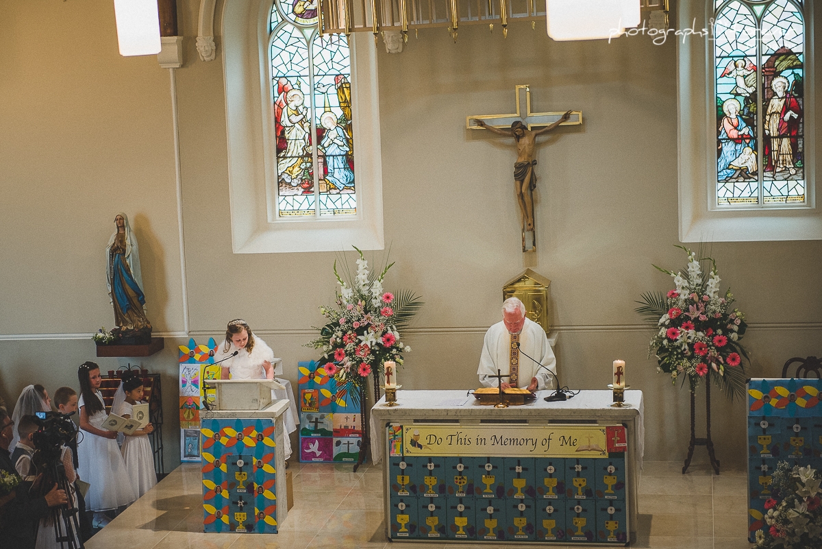 First Communion Lifestyle Photography in Ardee