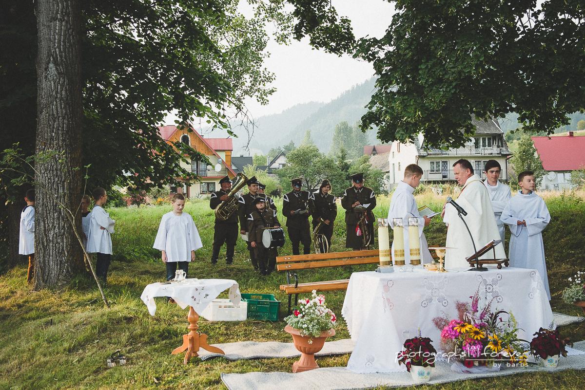 Kapliczka Św. Anny w Sromowcach Niznych