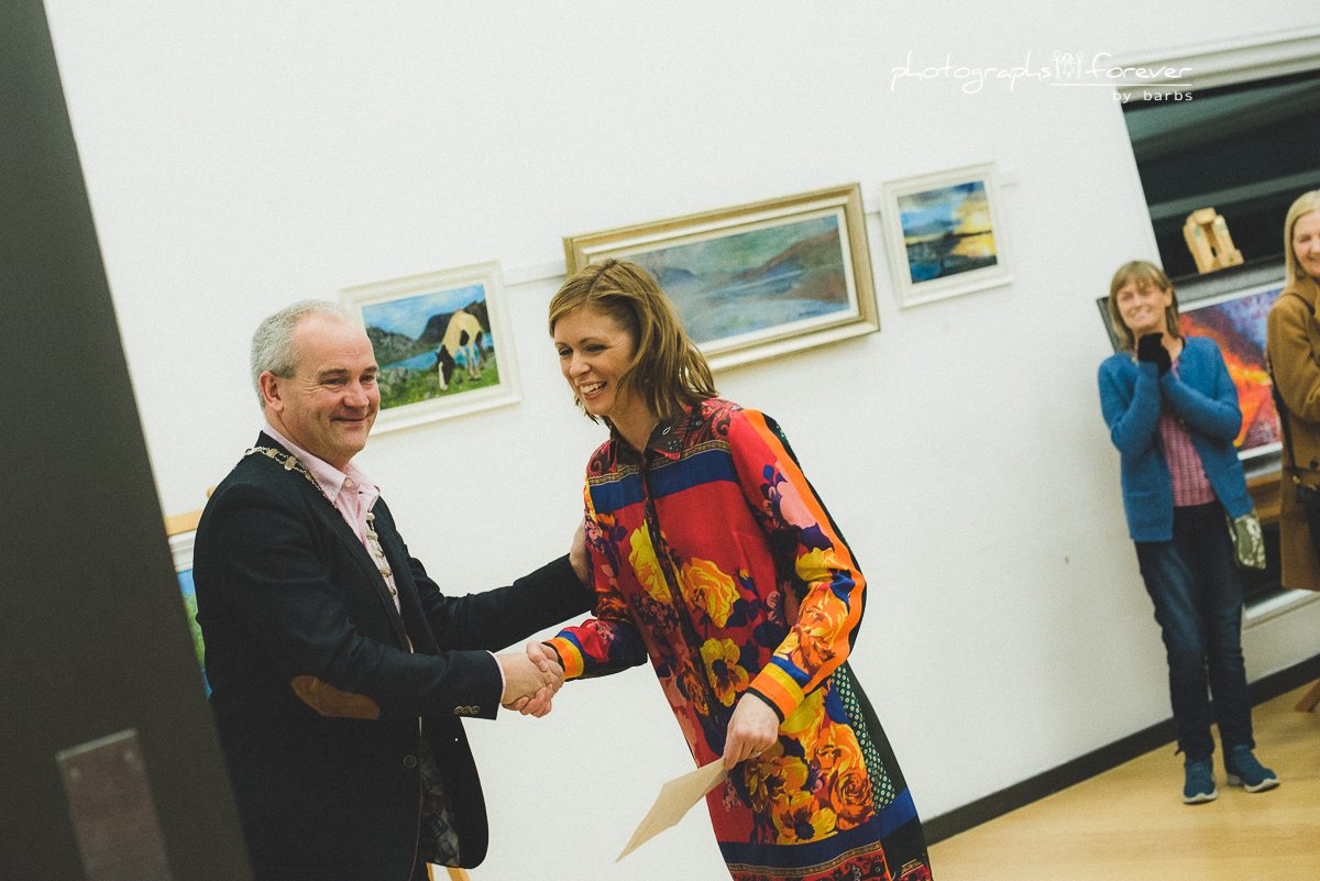 Art Flow Exhibition Opening Night Monaghan