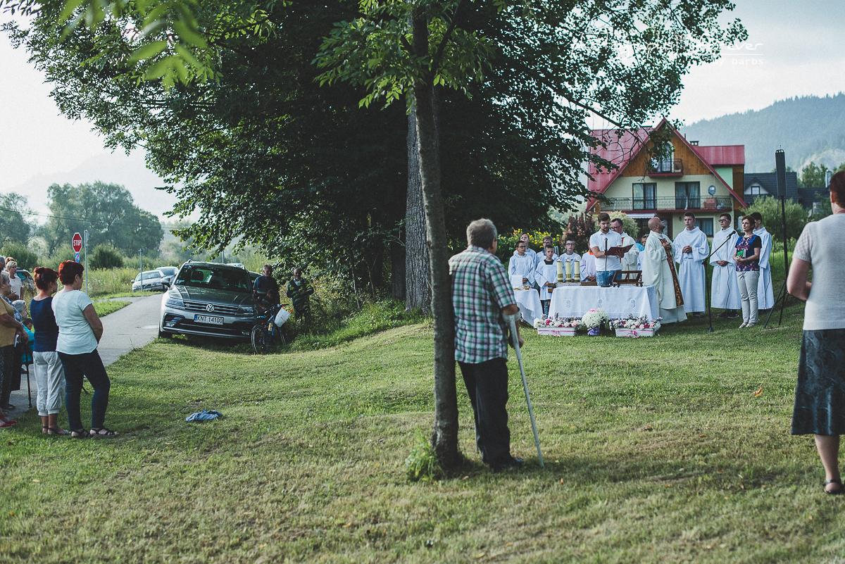 kapliczka swietej anny sromowce nizne 2018