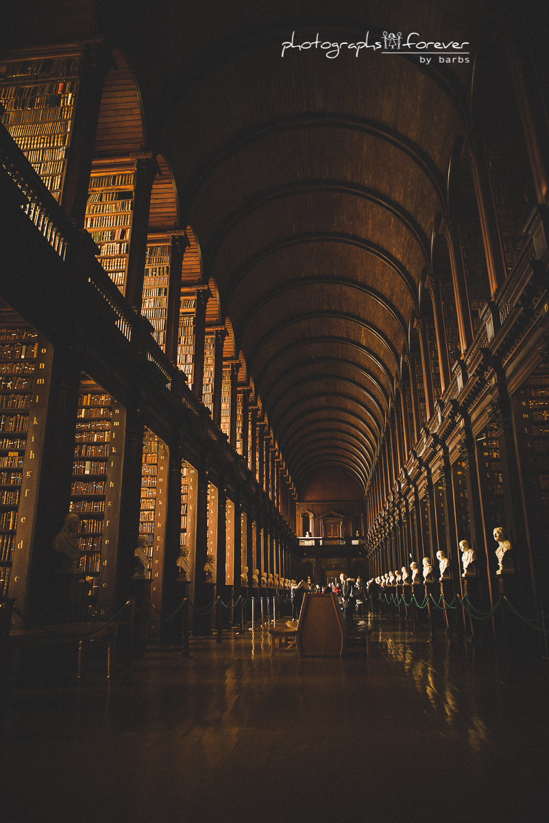 dublin trinity college library st. patrick's cathedral